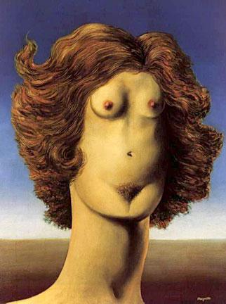 Rene Magritte The Rape