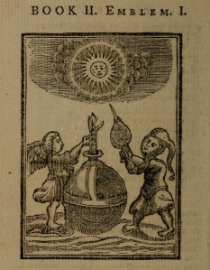 Francis Quarles: Emblems (Book 2, Emblem 1) 1635