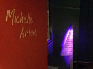 Michelle Arieu's Pyramid at Caretaker's House