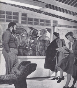 Jack Bilbo's One-Man show at the Museum of Modern Art, Weybridge, 1946.