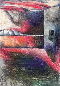 Eva Svankmajerova: Illustration from Baradla Cave