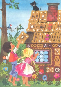 Gisela Gottschlich: Illustration from Grimm's Fairy Tales [Hansel Und Gretel II]