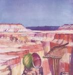 Triptych I (Marine Geology) 1955
