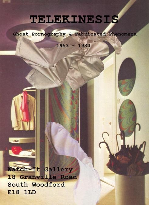 Telekinesis Flyer [Ghost Pornography (Silver), 1980]